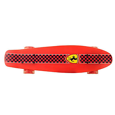 Ferrari Penny 22.5-Inch x 6-Inch Skateboard in Red Checkerboard