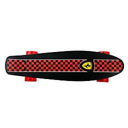 Ferrari Penny 22.5-Inch x 6-Inch Skateboard in Black Checkerboard