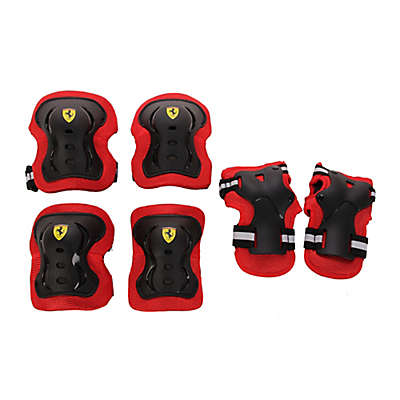 Ferrari 6-Piece Protective Gear Set