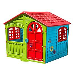 PalPlay House of Fun Indoor/Outdoor Playhouse in Multi