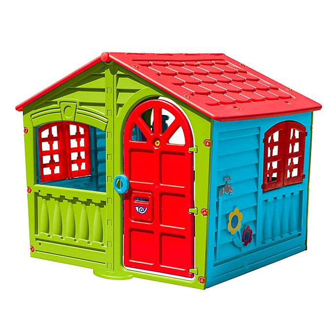 Alternate image 1 for PalPlay House of Fun Indoor/Outdoor Playhouse in Multi