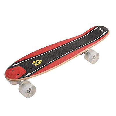 Ferrari Flashing Wheels 22-Inch Skateboard in Black