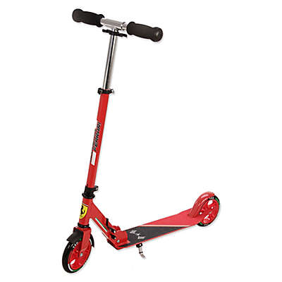 Ferrari 2-Wheel Kick Scooter in Red