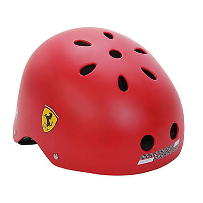 Ferrari Medium Retro Classic Helmet in Red