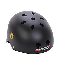 Ferrari Medium Retro Classic Helmet in Black
