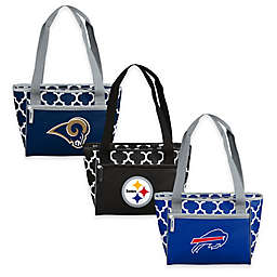 NFL Quatrefoil Cooler Tote Collection