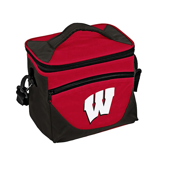 Alternate image 1 for University of Wisconsin Halftime Lunch Cooler in Red