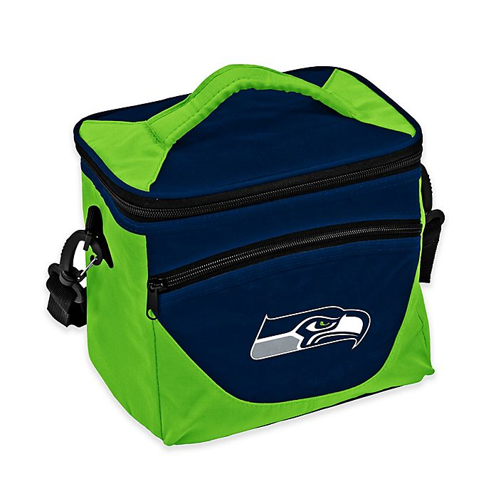 Alternate image 1 for NFL Seattle Seahawks Halftime Lunch Cooler in Navy/Lime