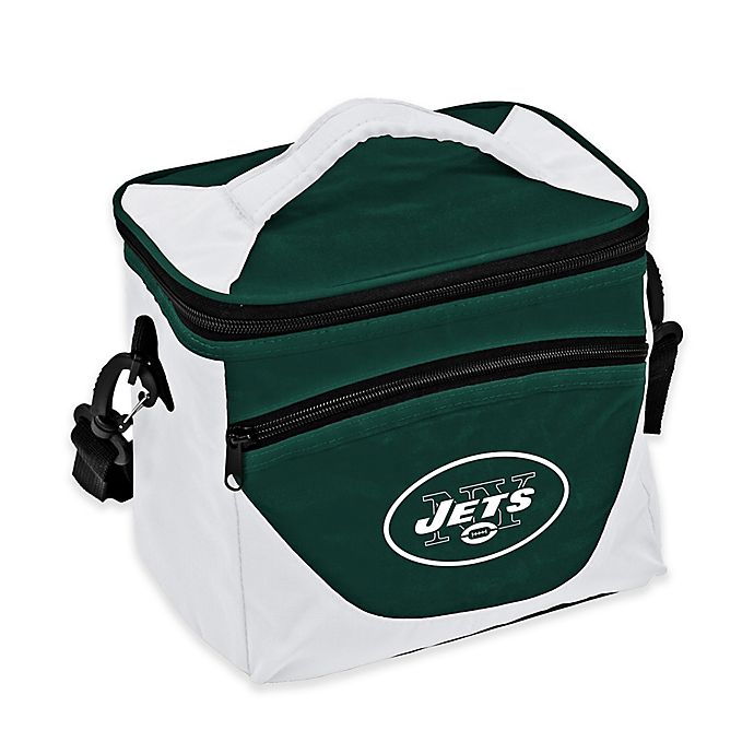 Alternate image 1 for NFL New York Jets Halftime Lunch Cooler in Green/White