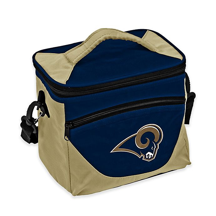 a8036d9e NFL Los Angeles Rams Halftime Lunch Cooler Navy/Gold | Bed Bath & Beyond