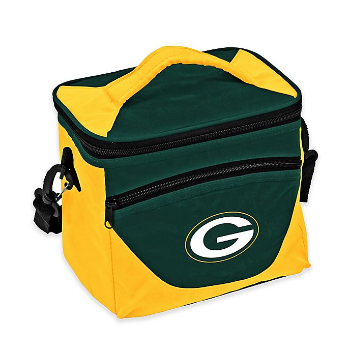 Alternate image 1 for NFL Green Bay Packers Halftime Lunch Cooler in Hunter/Gold