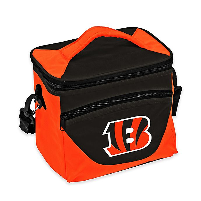Alternate image 1 for NFL Cincinnati Bengals Halftime Lunch Cooler in Black/Orange