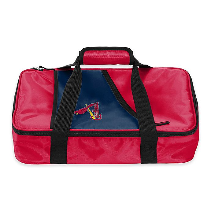 Alternate image 1 for MLB St. Louis Cardinals Casserole Caddy in Red