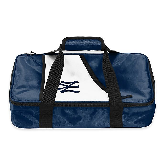 Alternate image 1 for MLB New York Yankees Casserole Caddy in Navy