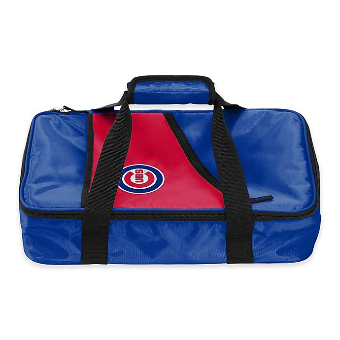 Alternate image 1 for MLB Chicago Cubs Casserole Caddy in Royal