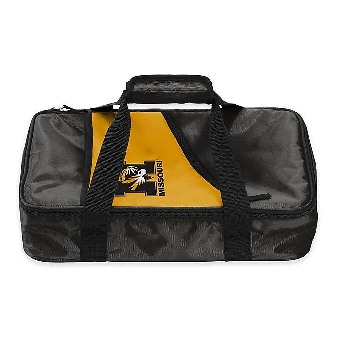 Alternate image 1 for University of Missouri Tigers Casserole Caddy in Black