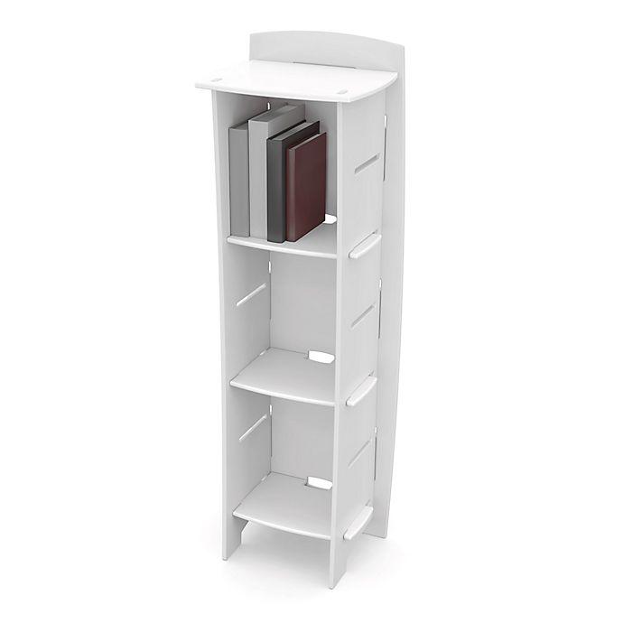 Alternate image 1 for Legare® 3-Shelf Bookcase in White