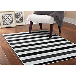 Black And White Striped Rug Bed Bath Beyond