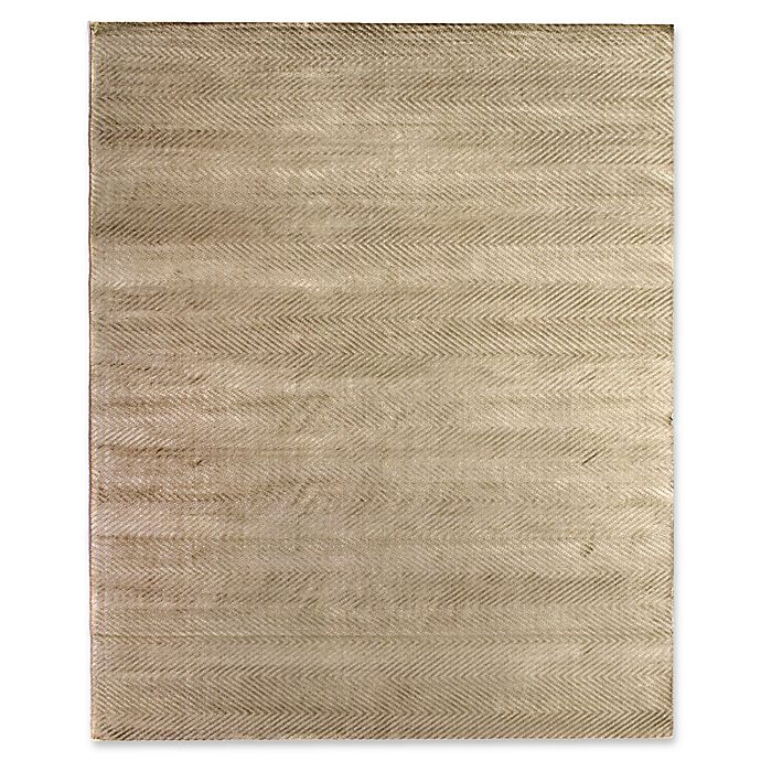 Alternate image 1 for Exquisite Rugs Honeycomb Rug in Light Beige