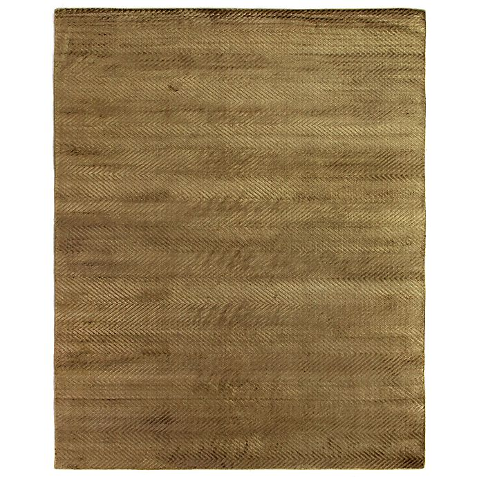 Alternate image 1 for Exquisite Rugs Honeycomb 8-Foot x 10-Foot Area Rug in Khaki