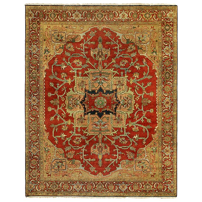 Alternate image 1 for Exquisite Rugs Antique Weave 8-Foot x 10-Foot Area Rug in Red