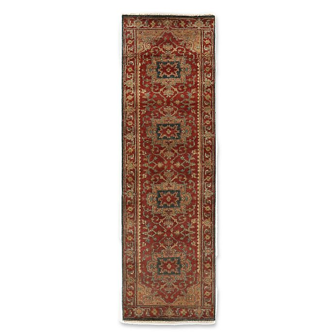 Alternate image 1 for Exquisite Rugs Antique Weave Serapi Rug in Red