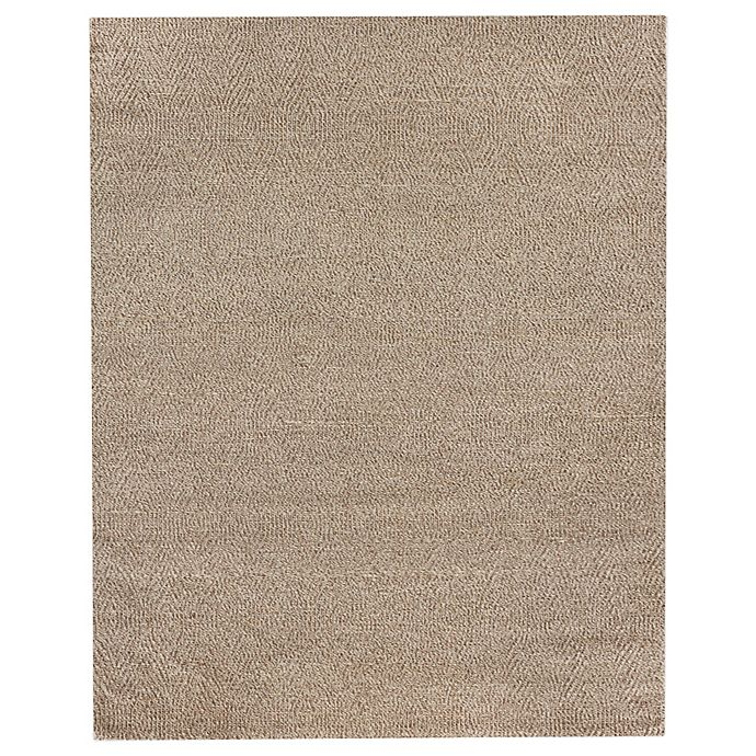 Alternate image 1 for Exquisite Rugs Woven Earth 8-Foot x 10-Foot Area Rug in Beige