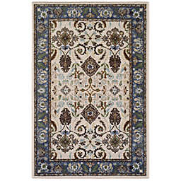 Brumlow Mills® Tarsus 2-Foot 6-Inch x 3-Foot 10-Inch Washable Accent Rug in Blue