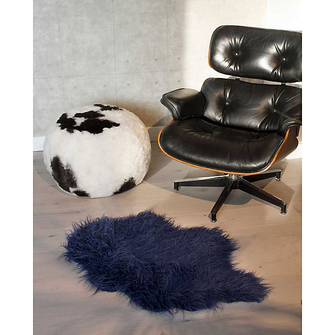 Alternate image 1 for Luxe Mongolian Faux Fur Sheepskin 2-Foot x 3-Foot Accent Rug