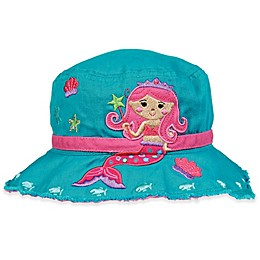 Stephen Joseph® Mermaid Bucket Hat in Teal