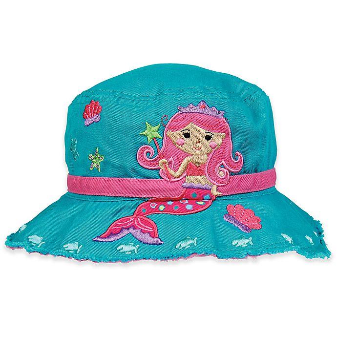Alternate image 1 for Stephen Joseph® Mermaid Bucket Hat in Teal
