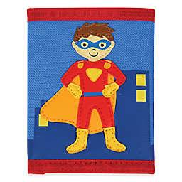 Stephen Joseph® Superhero Wallet in Blue