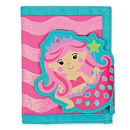 Stephen Joseph® Mermaid Wallet in Pink