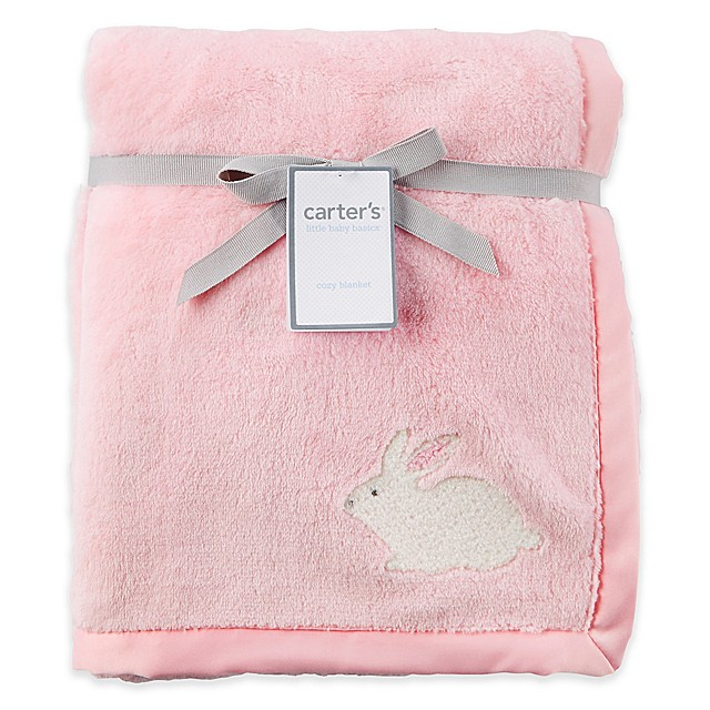 3d4b7500548 carter s® Bunny Velboa Blanket in Pink