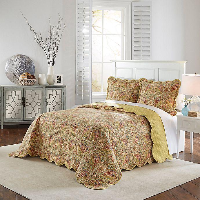 Alternate image 1 for Waverly Swept Away King Bedspread Set