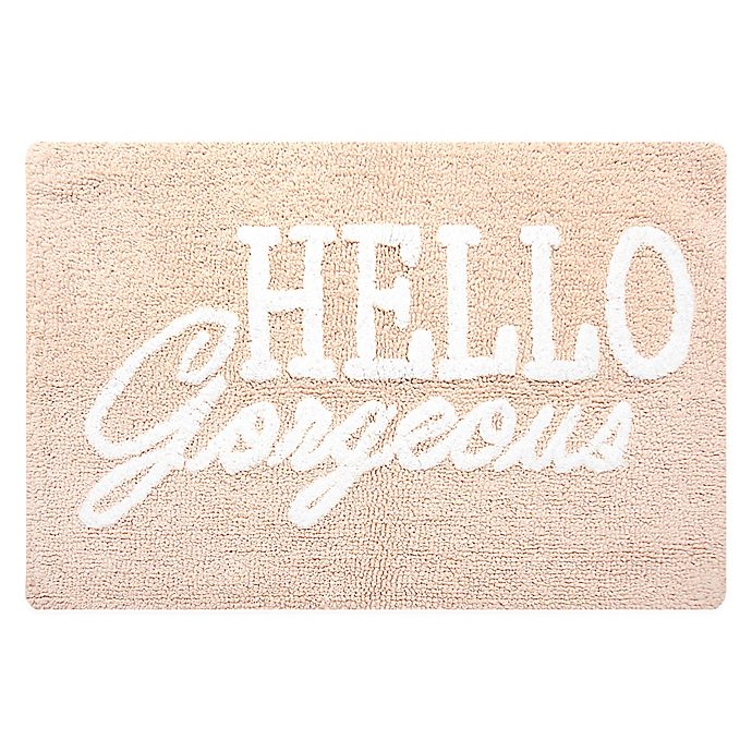Alternate image 1 for Hello Gorgeous Accent Rug in Rosewater