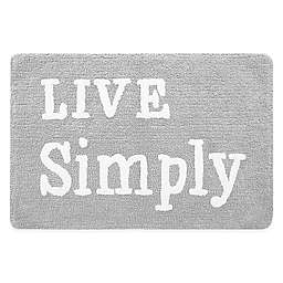 Live Simply Accent Rug in Alloy