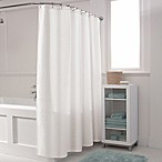 Maytex Waffle Shower Curtain in White