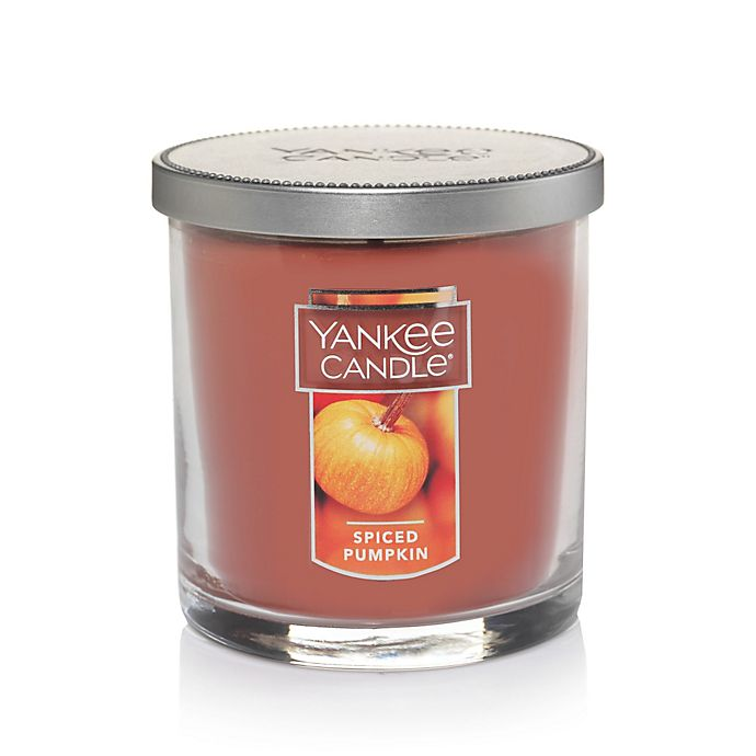 Alternate image 1 for Yankee Candle® Housewarmer® Spiced Pumpkin Small Tumbler Candle