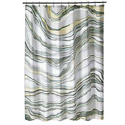 Shell Rummel Sand Stone Shower Curtain