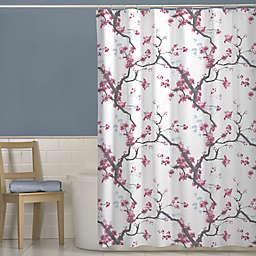 Cherrywood Shower Curtain In Pink