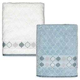 Shell Rummel Sea Glass Bath Towel Collection