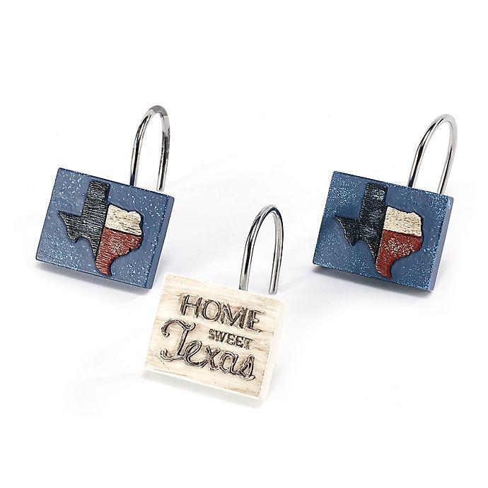 Alternate image 1 for Avanti Home Sweet Texas Shower Hooks