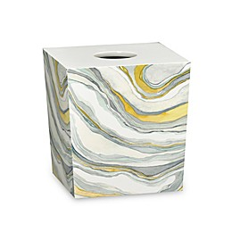 Shell Rummel Sand Stone Boutique Tissue Box Cover