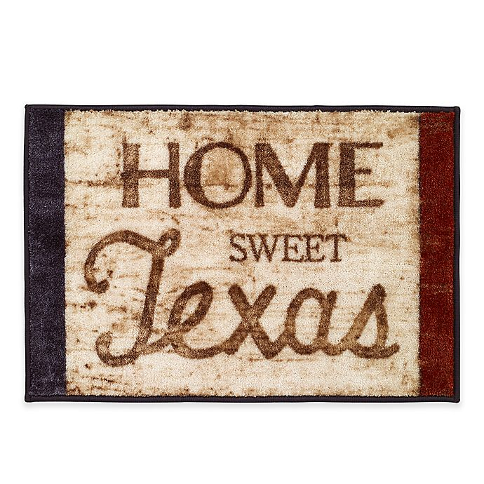 Alternate image 1 for Avanti Home Sweet Texas 1-Foot 8-Inch x 2-Foot 6-Inch Accent Rug