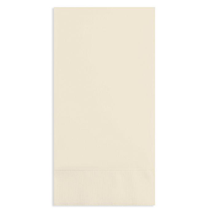36 piece disposable guest towel set bed bath beyond - Disposable guest towels for bathroom ...