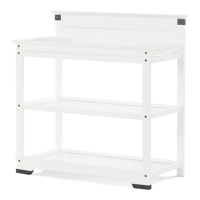 Child Craft Redmond Changing Table In Matte White Buybuy Baby