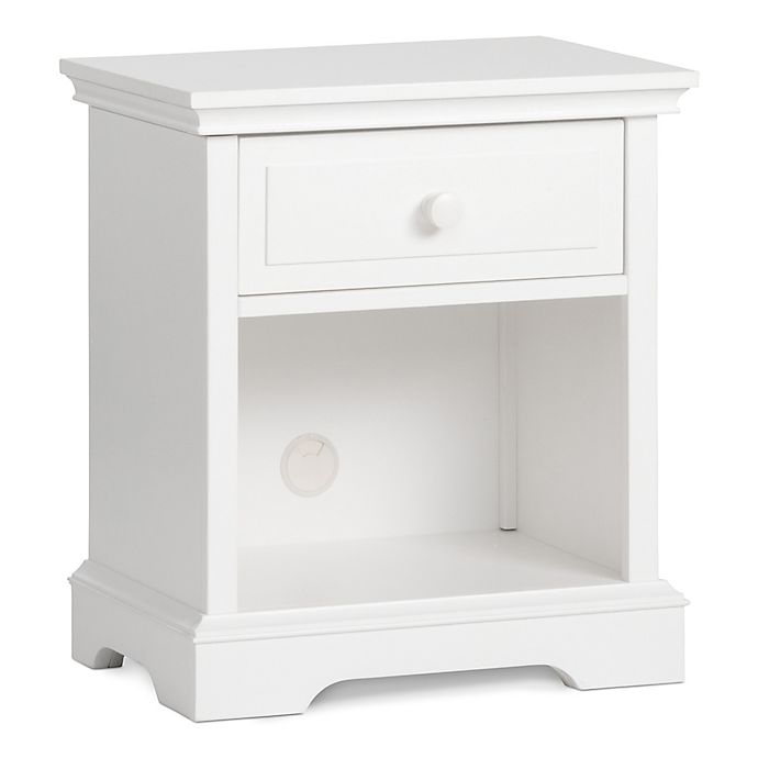 Alternate image 1 for Child Craft™ Universal Select Ready-to-Assemble Nightstand in Matte White