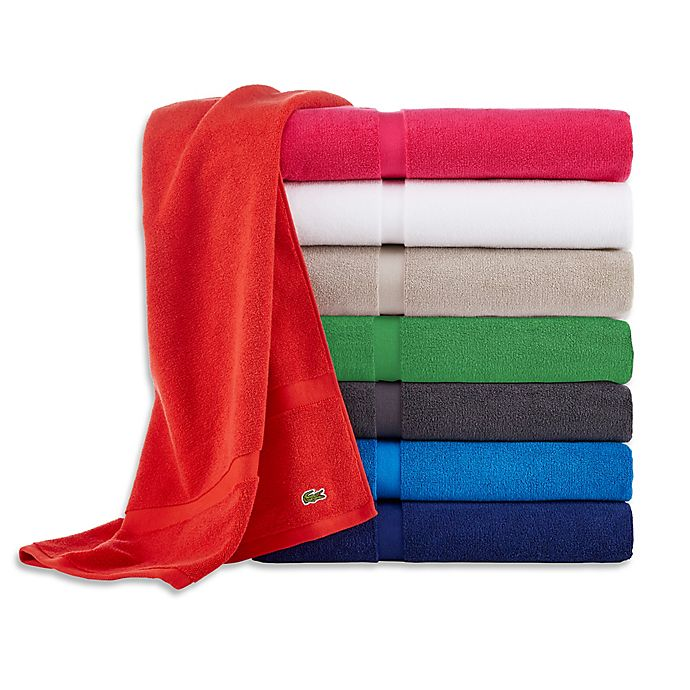 Alternate image 1 for Lacoste Court Bath Towel Collection
