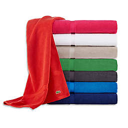 Lacoste Court Bath Towel Collection